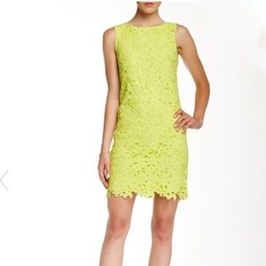 Jessica Simpson Crocheted Lace Dress